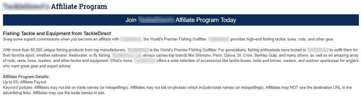 How to Find Affiliate Programs - affiliate outline