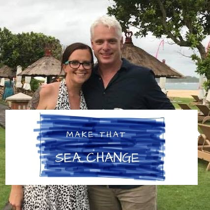 Paul and Nic Logo - Make that Sea Change