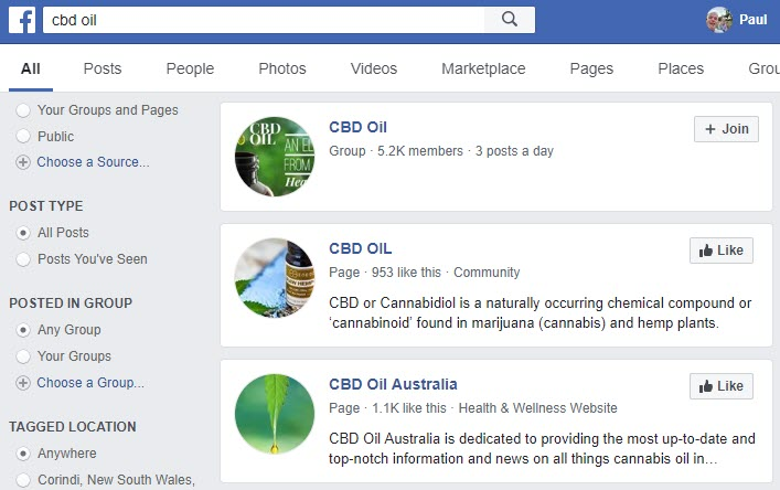 How to Make Money Selling CBD Oil Online - FB group