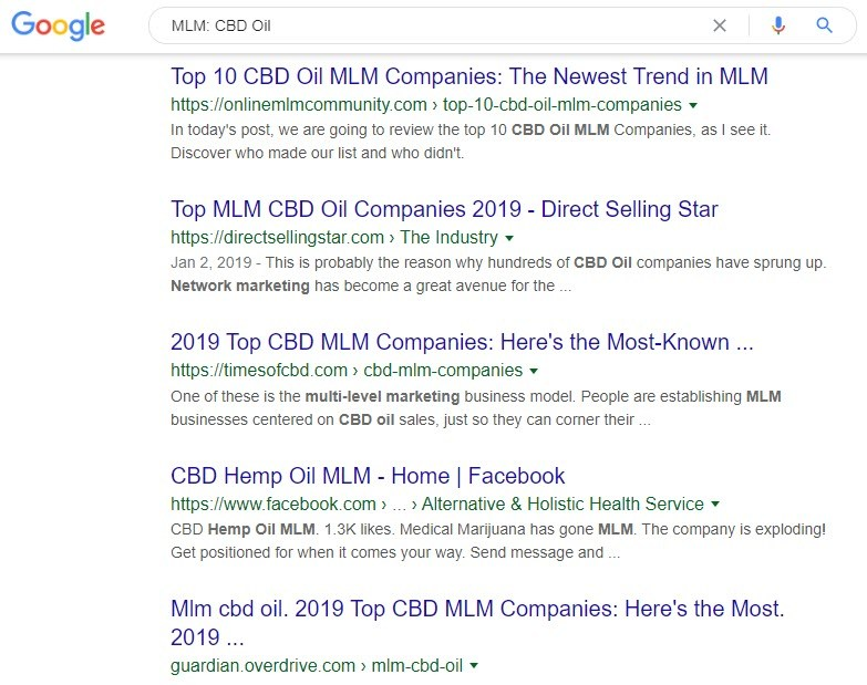 How to Make Money Selling CBD Oil Online - cbd oil mlm