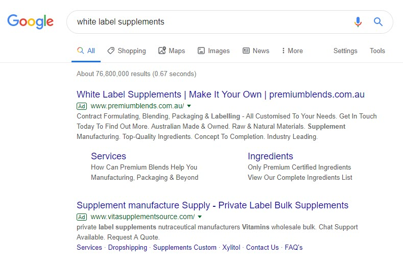 How to Make Money Selling Supplements Online - whitelabel