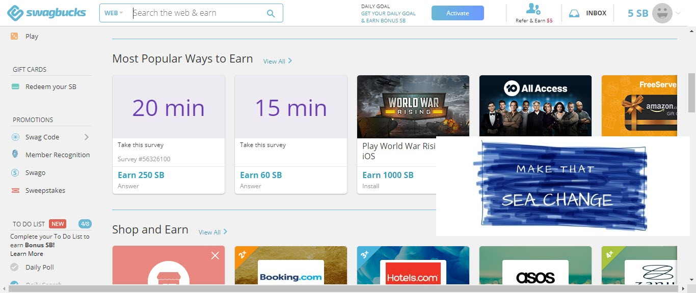 Can You Make Money with Swagbucks - header