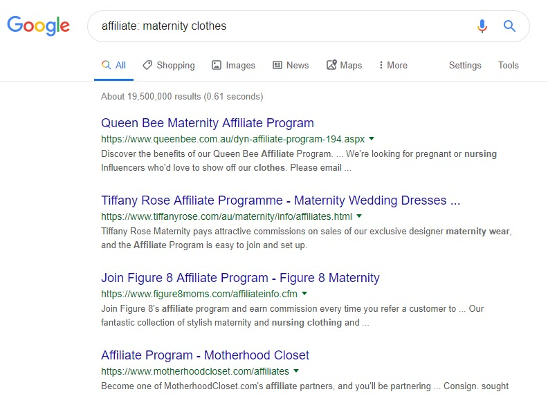 How to Make Money Selling Clothes Online - affiliate maternity