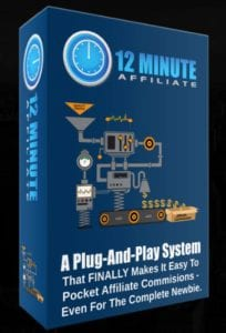 What is 12 Minute Affiliate - product box
