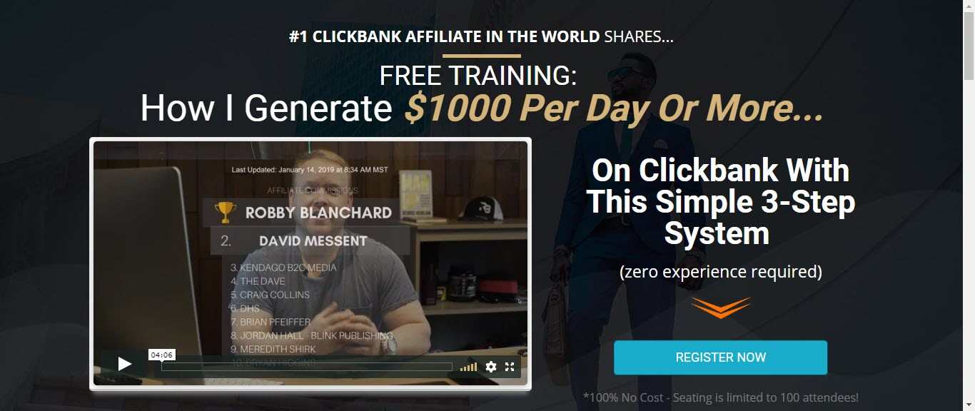 income profits review - clickbank profits training