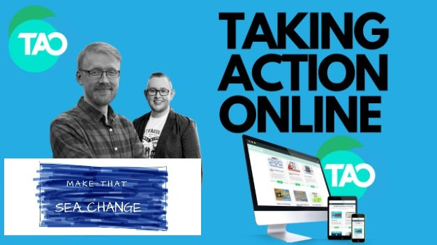 taking action online - header