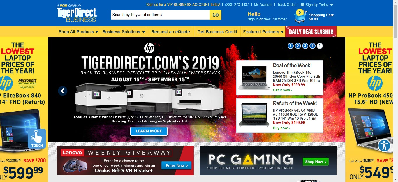 8 Electronics Affiliate Programs - tigerdirect
