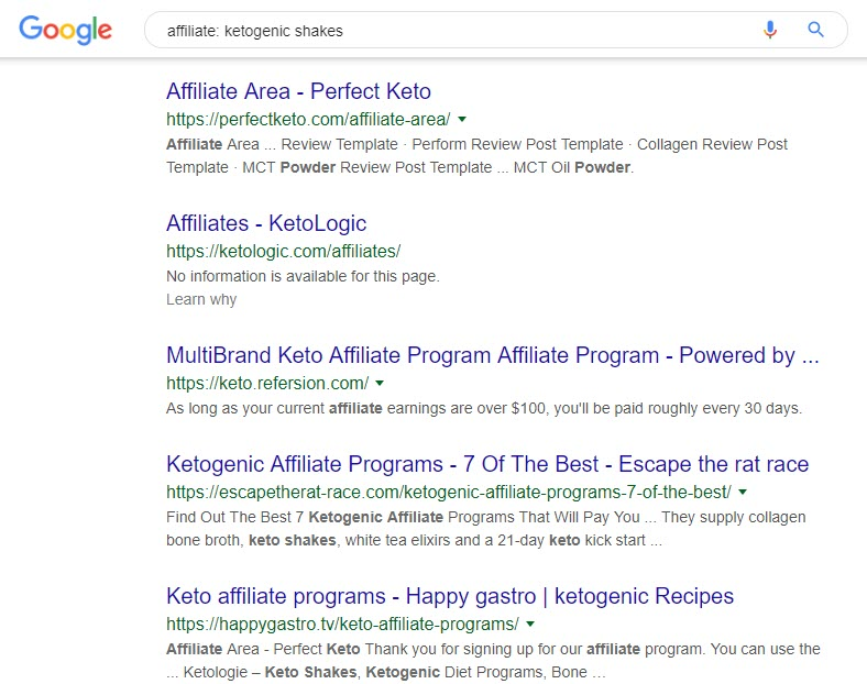 8 Ketogenic Affiliate Programs - affiliates ketogenics shakes