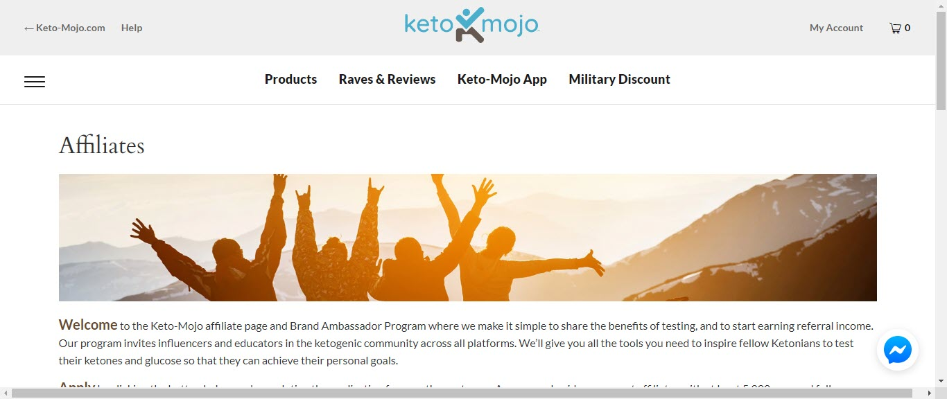 8 Ketogenic Affiliate Programs - keto mojo affiliate
