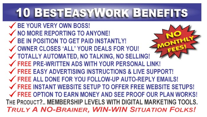 Best Easy Work Review - benefits