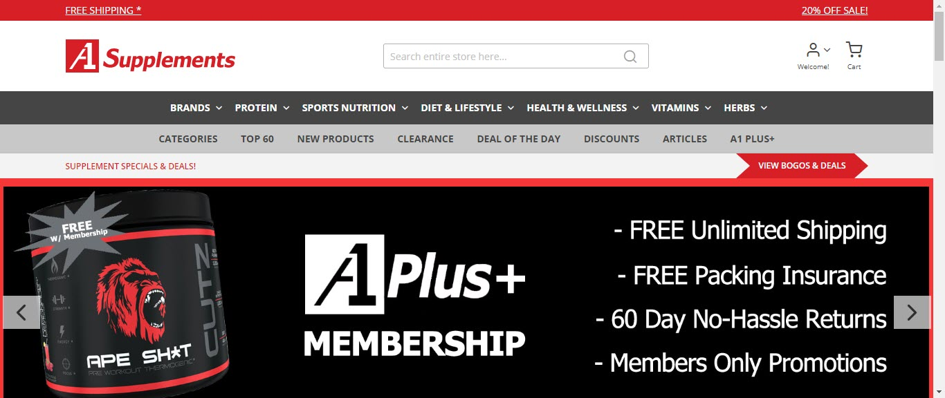 Best Supplement Affiliate Programs - A1 supps