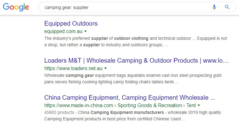 How to Sell Camping Gear -droppshipping