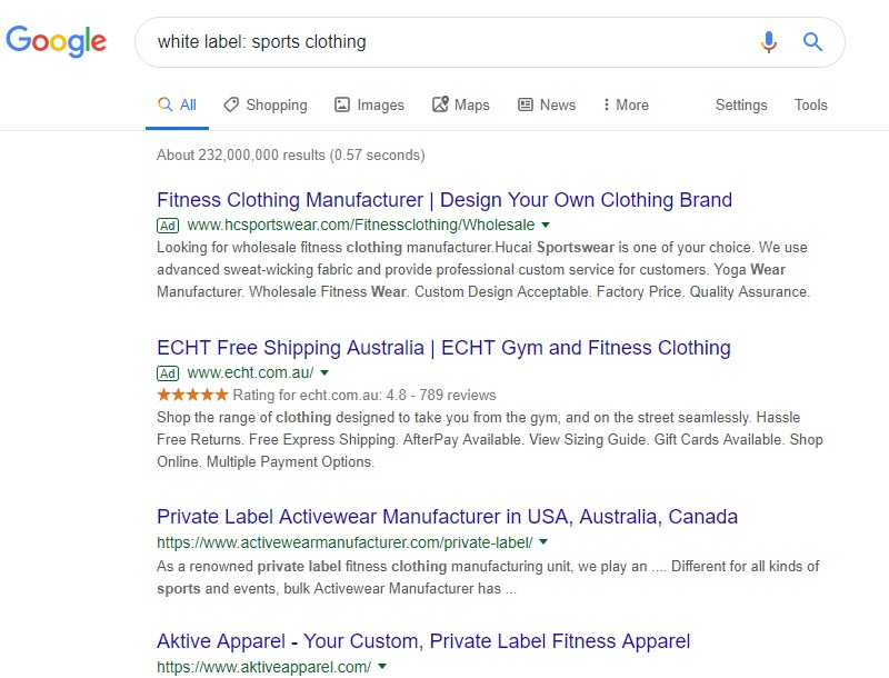 How to Sell Fitness Workouts Online - white label - sports clothes