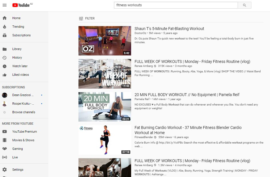 How to Sell Fitness Workouts Online - youtube