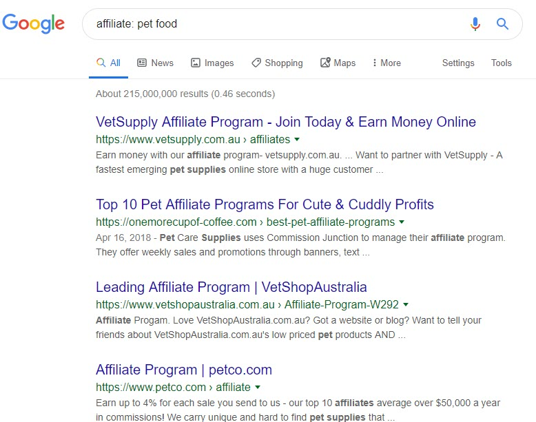 How to Sell Pet Supplies Online - pet food affiliate