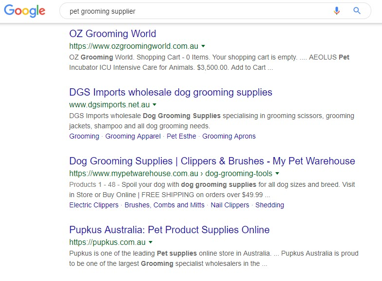 How to Sell Pet Supplies Online - suppliers - pet grooming