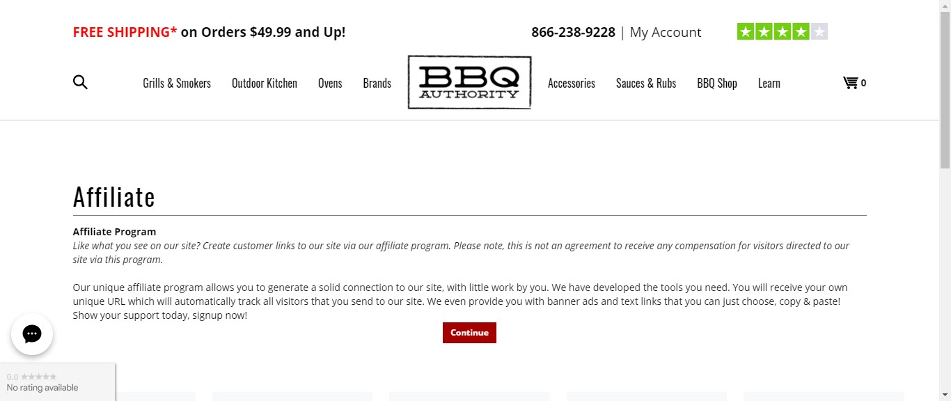 BBQ and Smoker Affiliate Programs - BBQ Authority affiliate