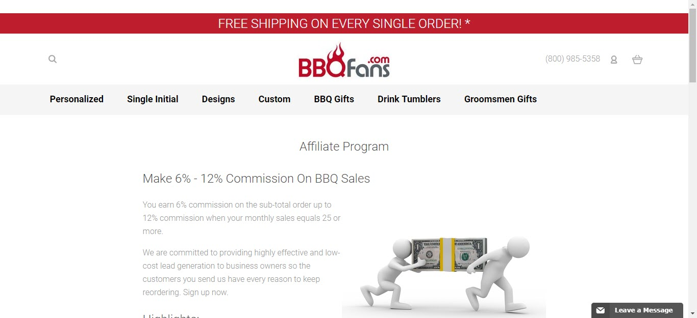 BBQ and Smoker Affiliate Programs - BBQfans affiliate