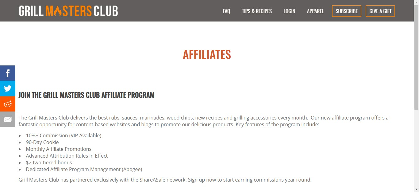BBQ and Smoker Affiliate Programs - Grill masters club affiliate