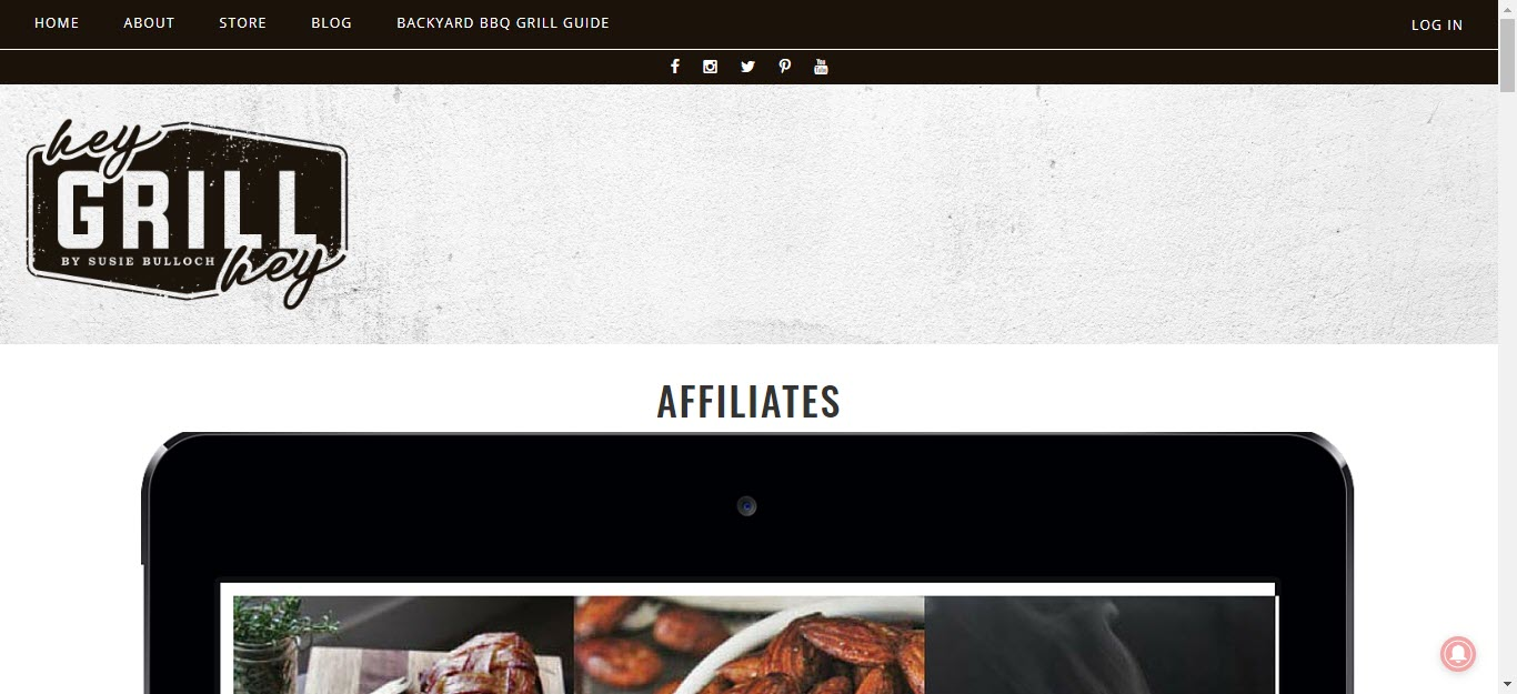 BBQ and Smoker Affiliate Programs - hey grill hey affiliate