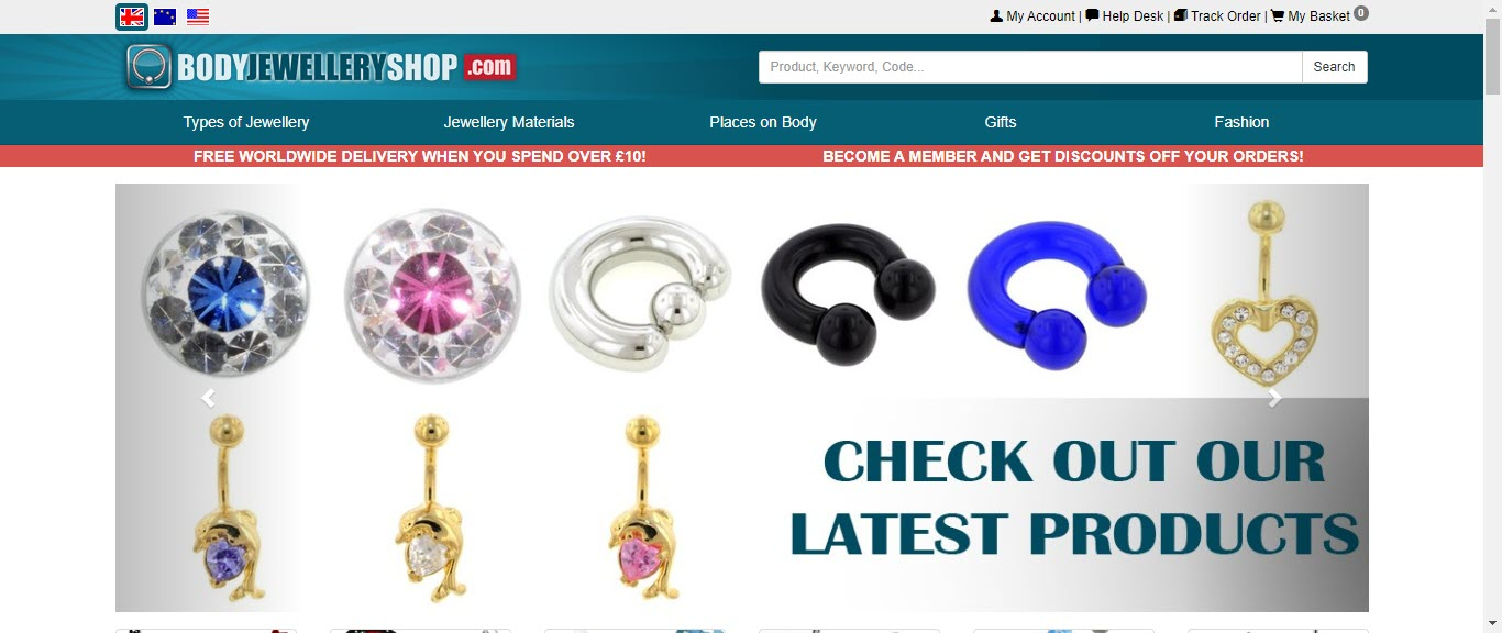 Best Jewelry Affiliate Programs - bodyjewelryshop