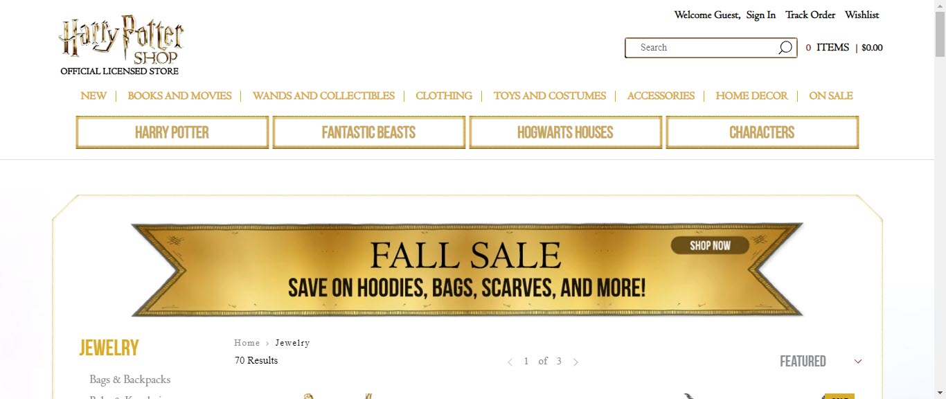 Best Jewelry Affiliate Programs - harry potter
