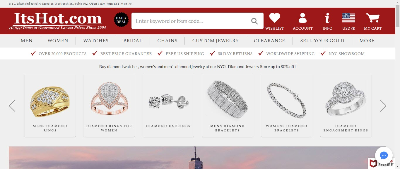 Best Jewelry Affiliate Programs - itshot