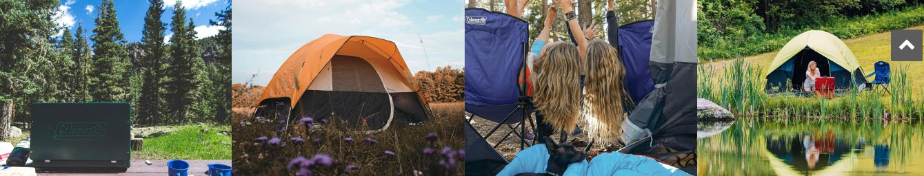 Camping Affiliate Programs - coleman stripe