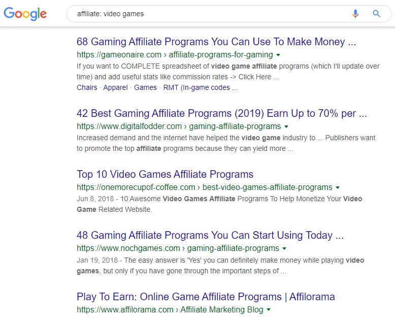 How to Make Money with Video Games - affiliate