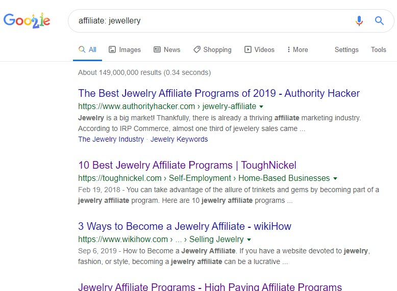 How to Sell Jewellery Online - jewellery affiliate