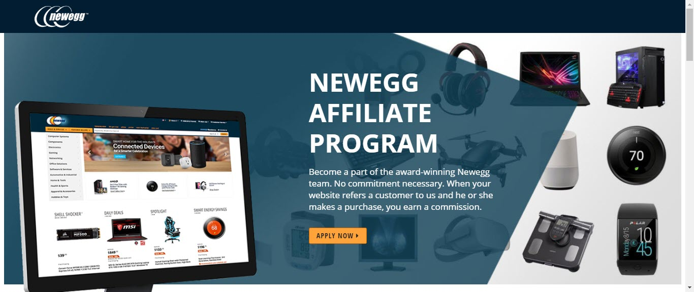 Video Game Affiliate Programs - NewEgg affiliate
