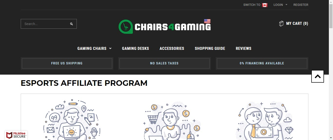 Video Game Affiliate Programs - chairs for gaming affiliate