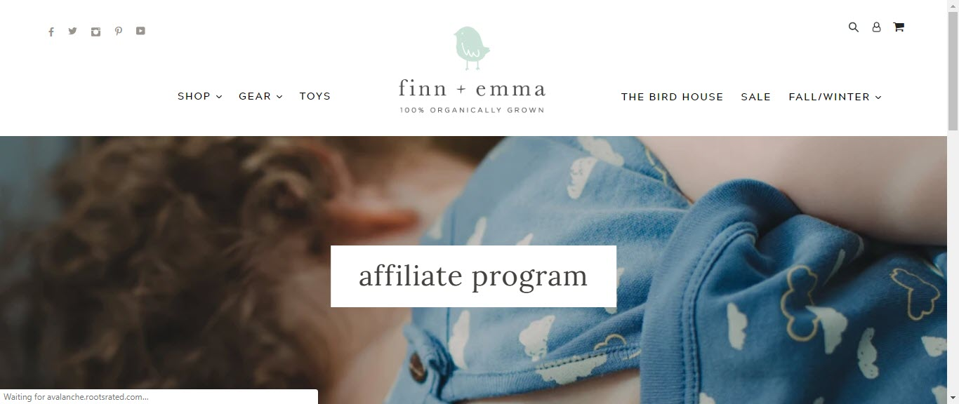Baby Product Affiliate Programs - finn +emma affiliate