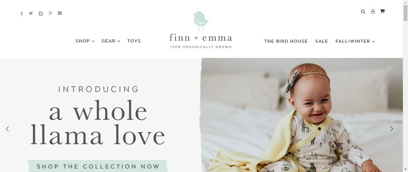 Baby Product Affiliate Programs - finn +emma