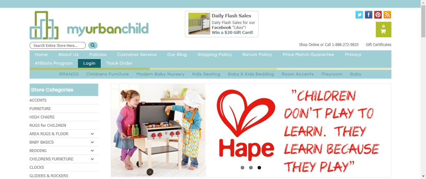 Baby Product Affiliate Programs - my urban child