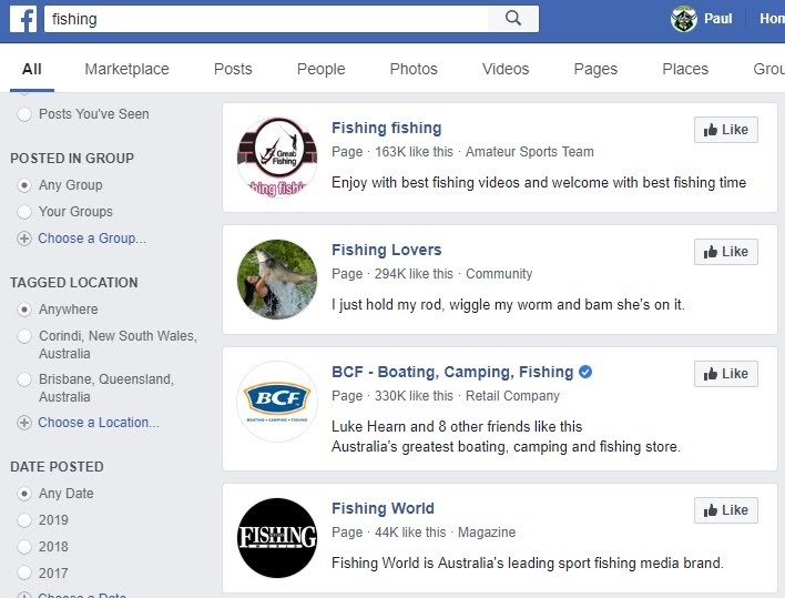 How to Sell Fishing Equipment - FB groups