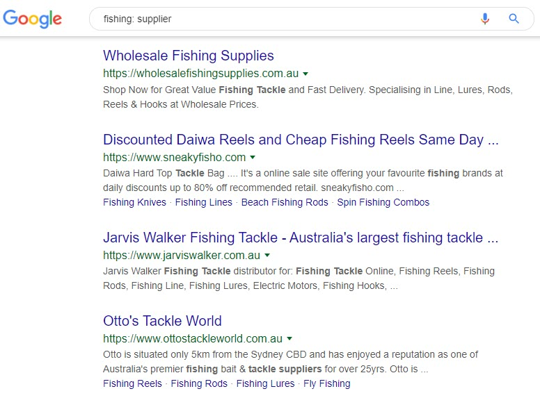 How to Sell Fishing Equipment - fishing supplier