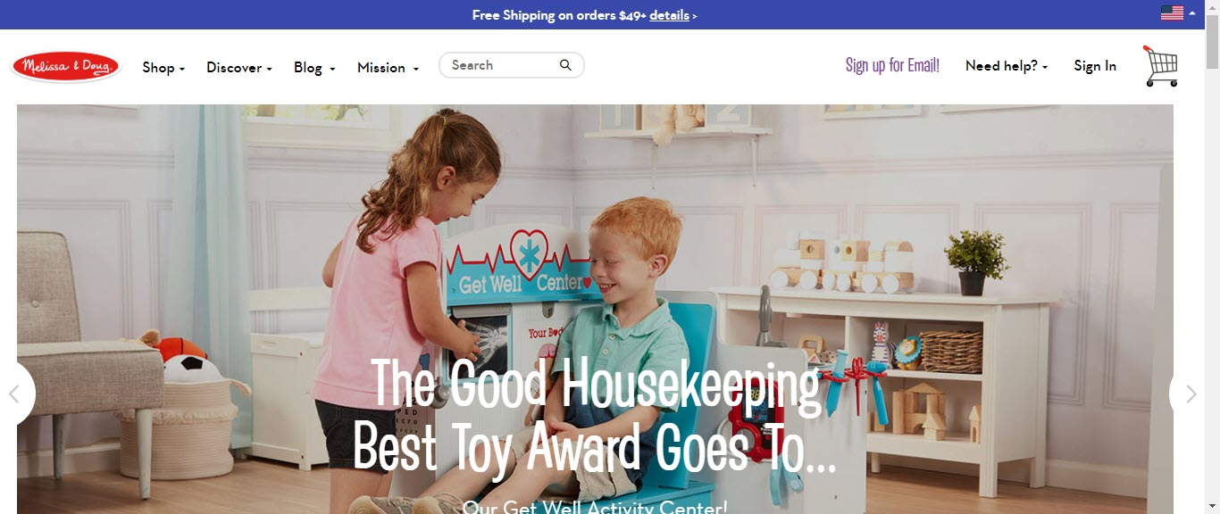 Toy Affiliate Programs - Mel and Doug