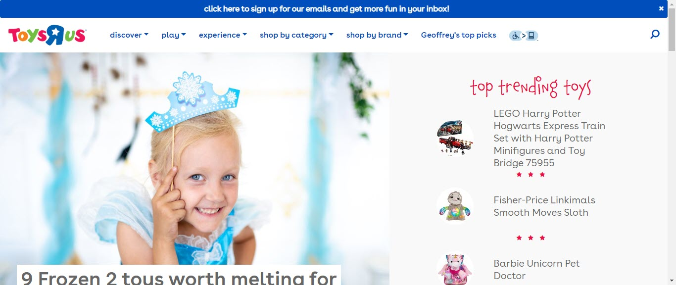 Toy Affiliate Programs - Toys r us