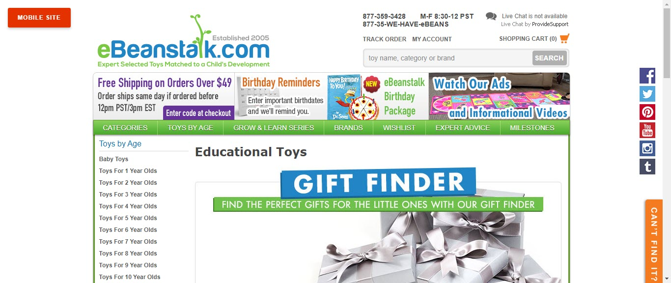 Toy Affiliate Programs - eBeanstalk.com