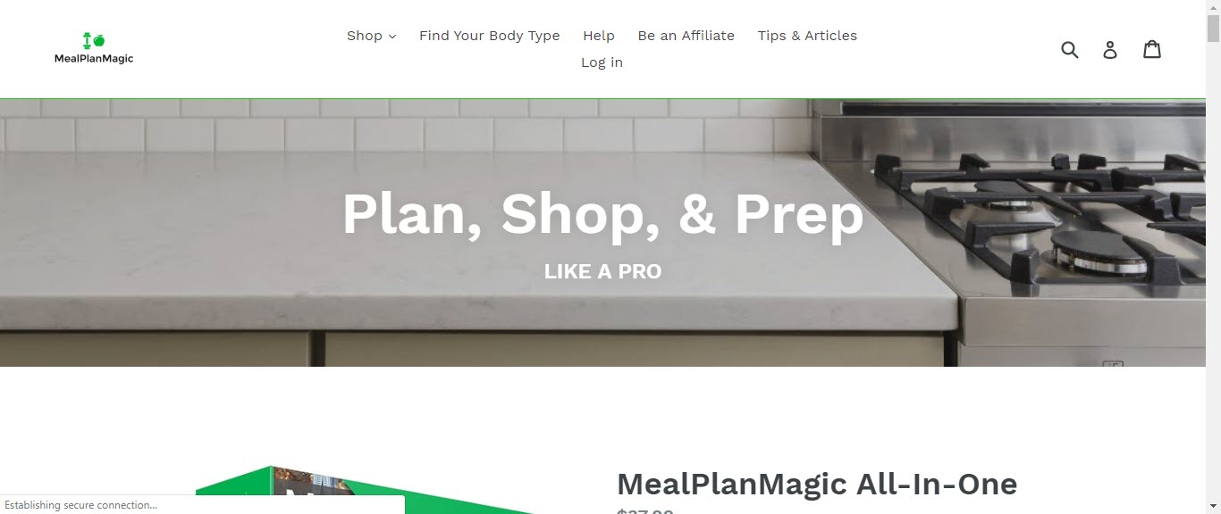 Weight loss affiliate programs - Meal Plan Magic