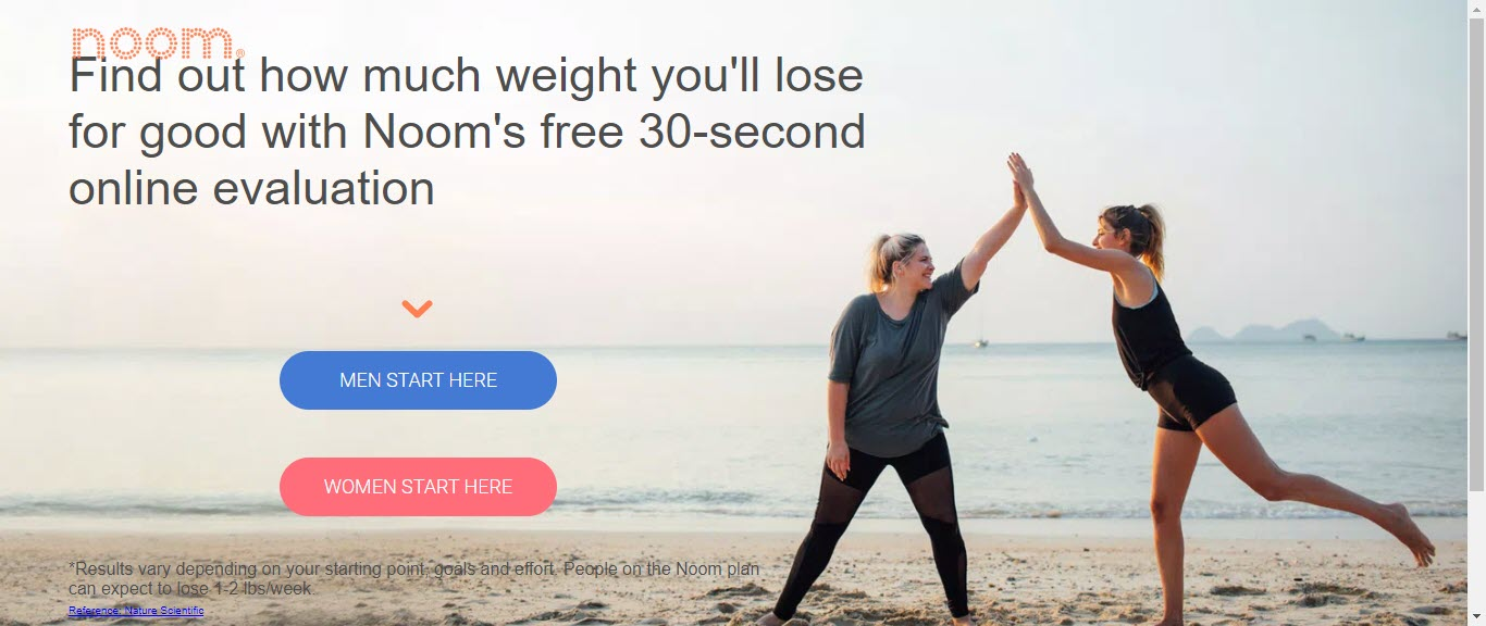 Weight loss affiliate programs - Noom