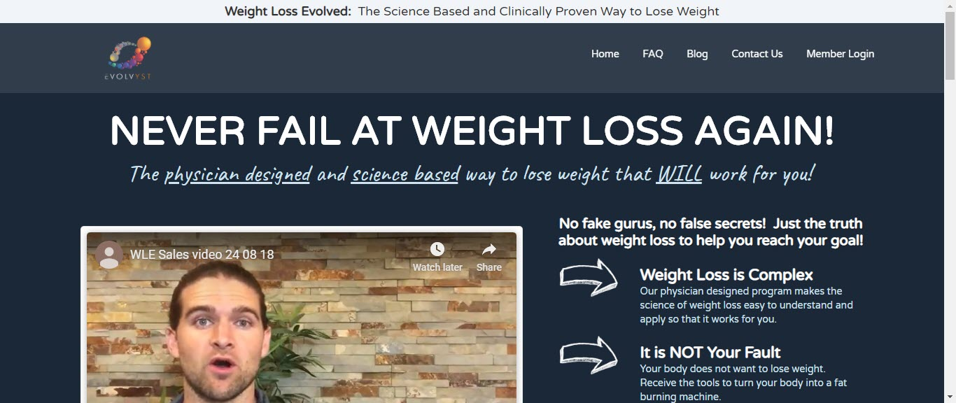Weight loss affiliate programs - weight loss evolved