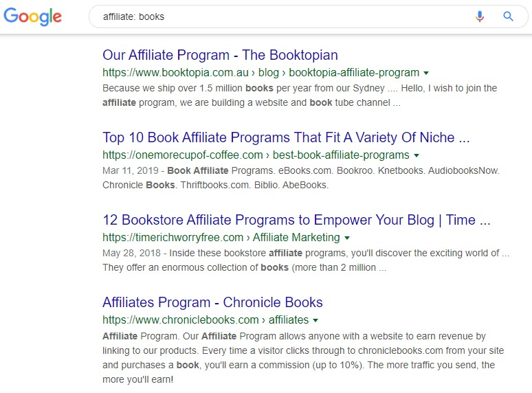 make money selling books online - afiiliate books