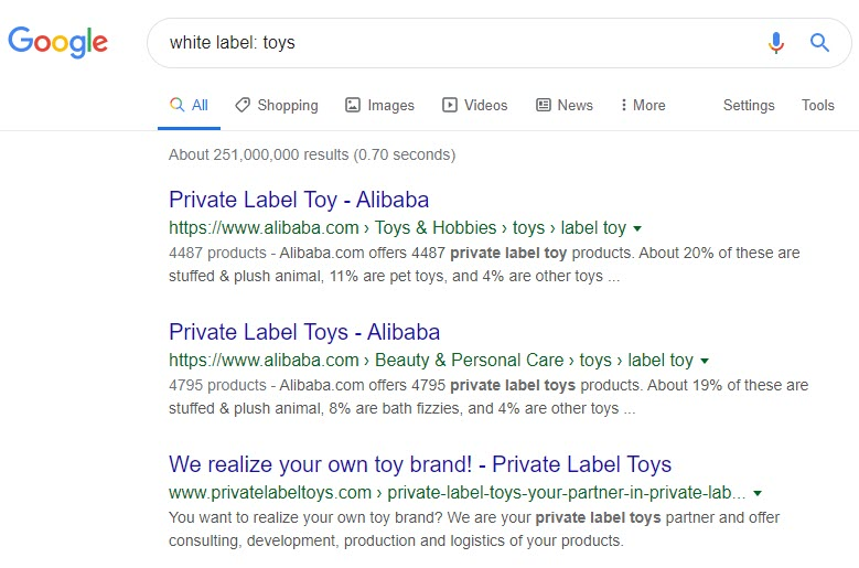 make money selling toys online - whitelabel toys