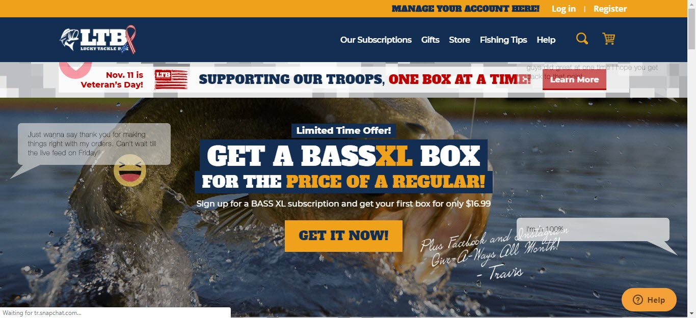 Fishing Affiliate Programs - Lucky Tackle Box