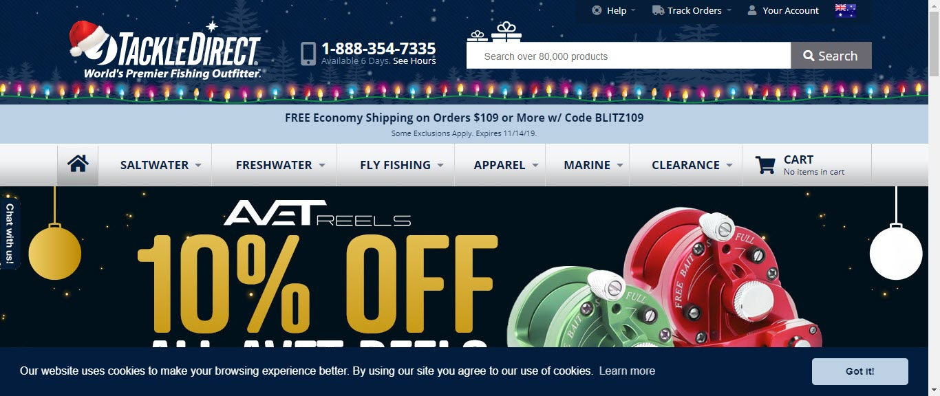 Fishing Affiliate Programs - Tackle Direct