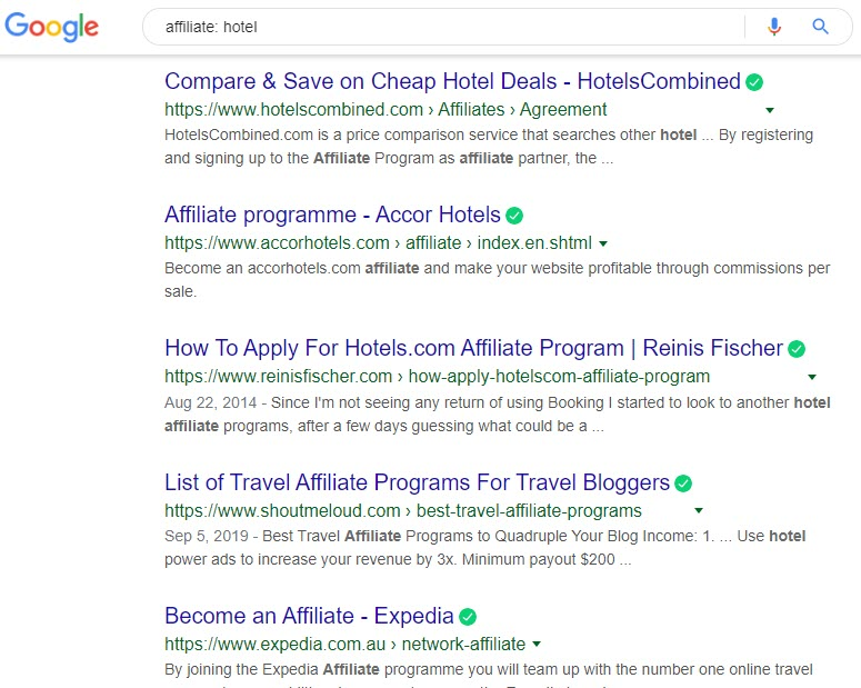 How to Sell Travel Online - hotel affiliate