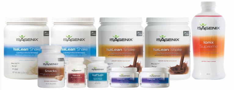 Is Isagenix a MLM - weightloss products