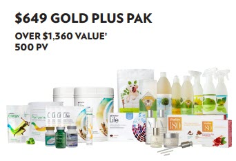 Is Shaklee an MLM - gold pak